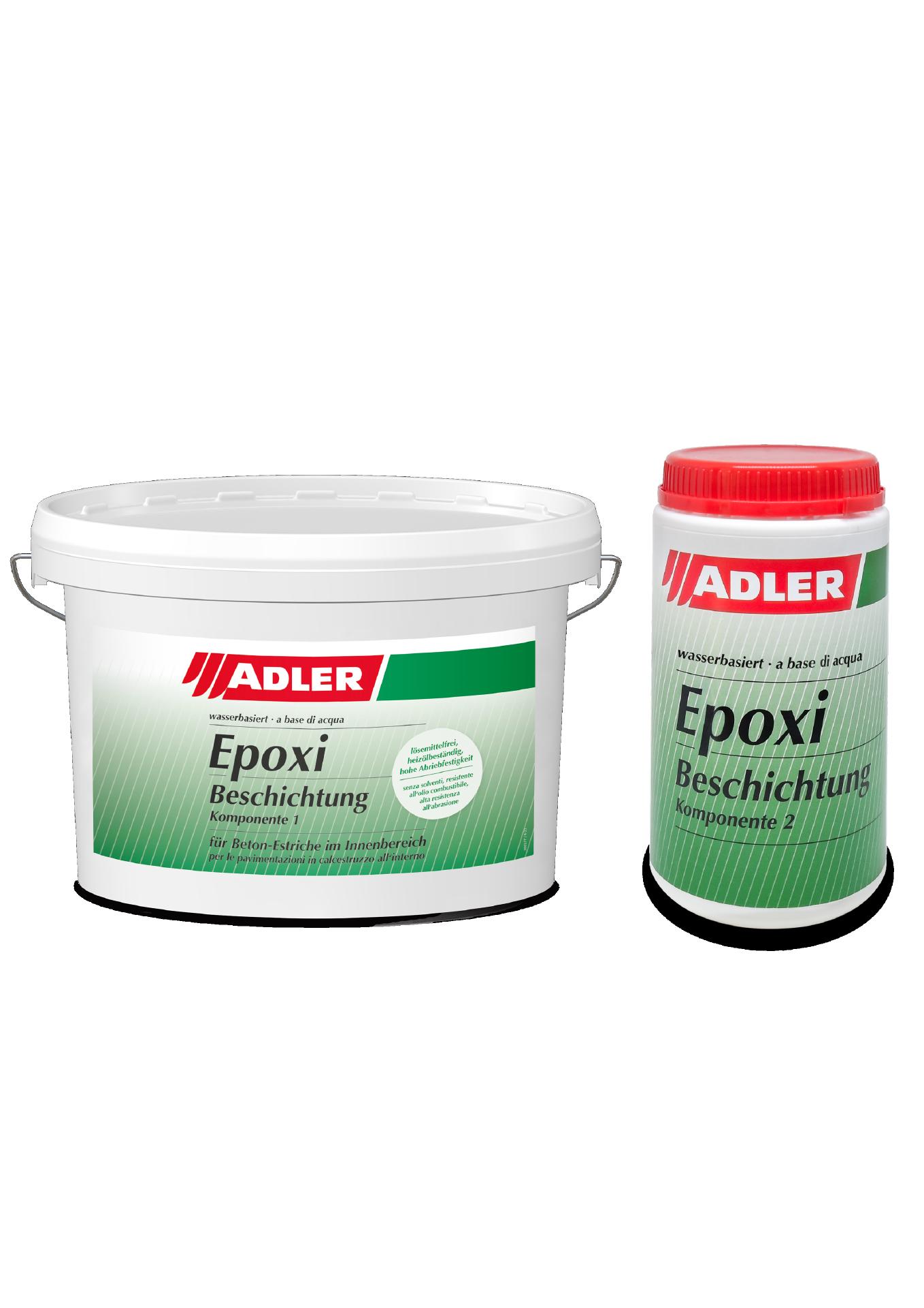 2K-Epoxi-Beschichtung Kieselgrau, Komponente I 3kg