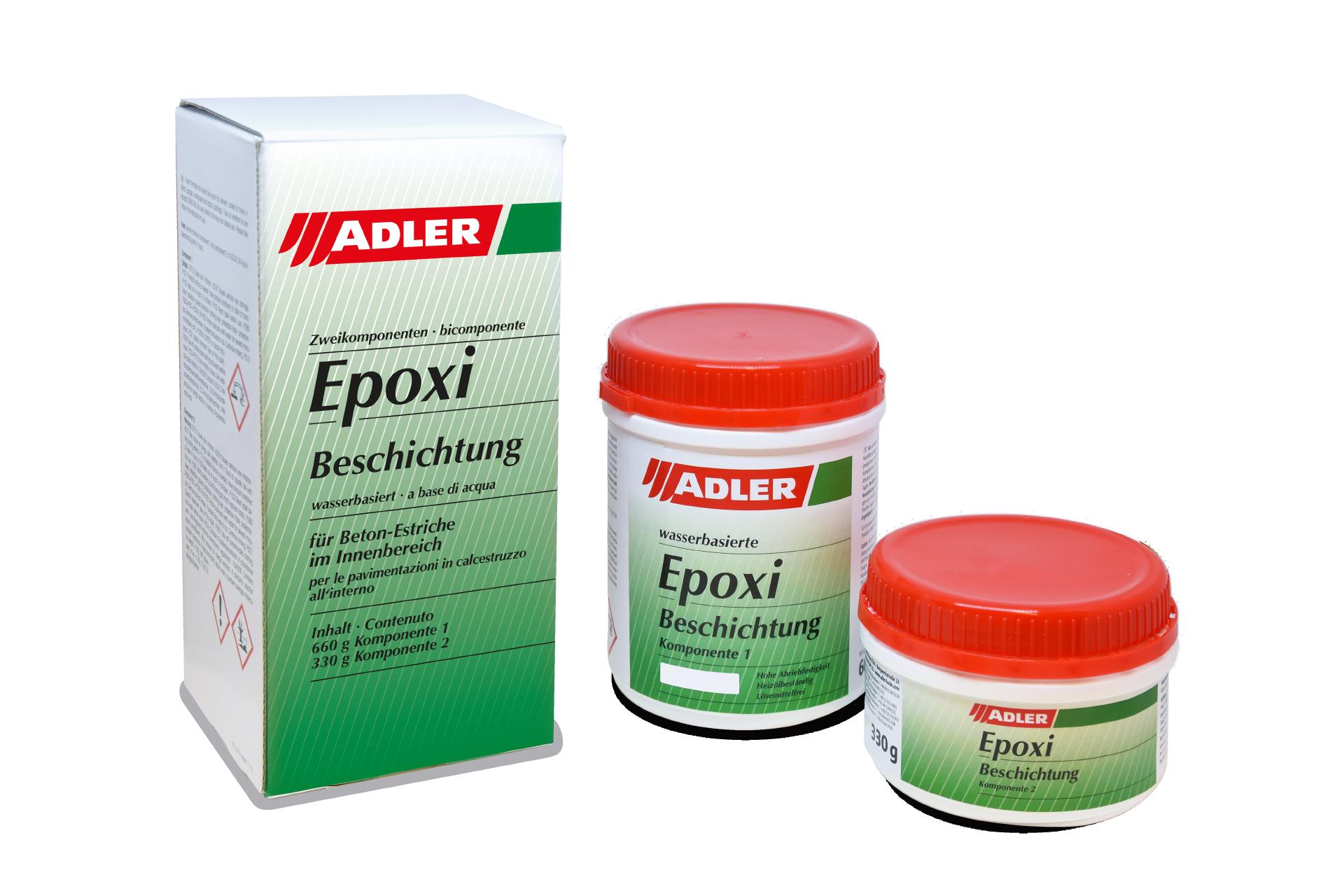 2K-Epoxi-Beschichtung Betongrau, Komponente I 1kg